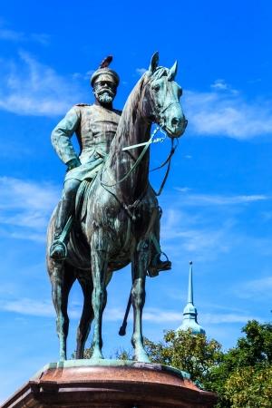 Memorial of Grand Duke Ludwig of Hessen in Darmstadt, Germany