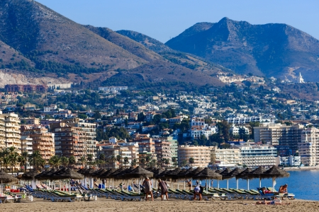 Fuengirola holiday resort near Malaga in southern Spain