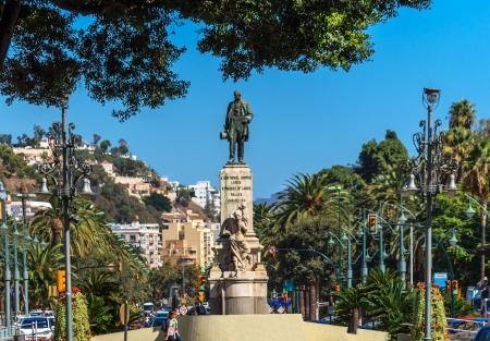 'costa del sol': Malaga in Andalusia, Costa del Sol, Spain Editorial