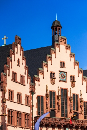 hesse: Town Hall in Frankfort on Main, Germany Stock Photo