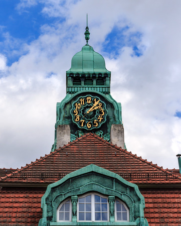 recognized: The Sprudelhof Spa House in Bad Nauheim  This complex is recognized as the largest center of Art Nouveau in Germany