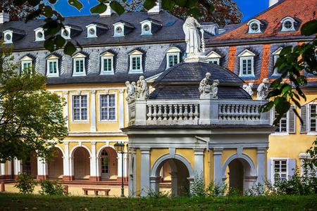 hessen: Castle Wilhelmsbad with its famous doll museum in Hanau, Hessen, Germany
