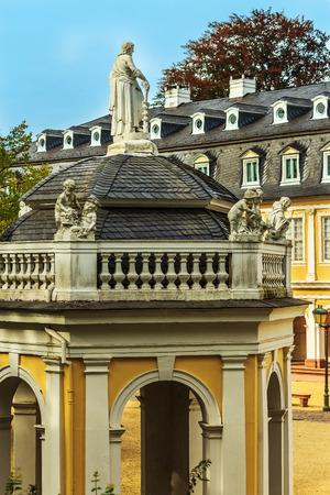 Castle Wilhelmsbad with its famous doll museum in Hanau, Hessen, Germany