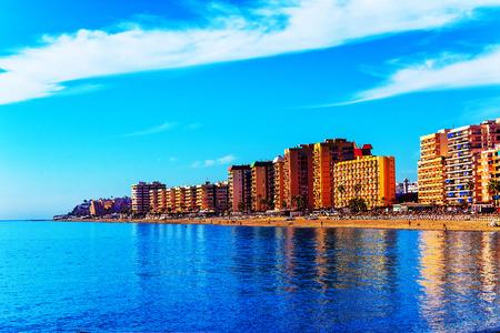 Fuengirola, holiday resort near Malaga, Southern Spain