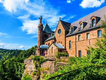 Monastery of Sainte Odile of Alsace, as Odile, and Ottilie is a patroness of good eyesight, and of Alsace.