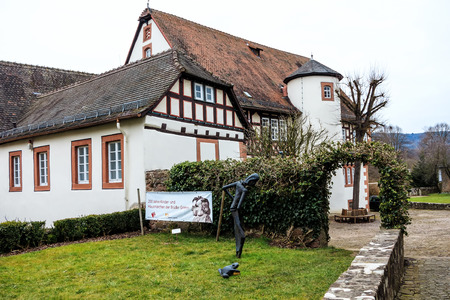 Birthplace of the Brothers Grimm in Steinau on the road, Germany