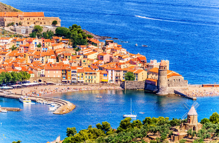 port vendres: Collioure- Scenic and Historic Bay City, South of France