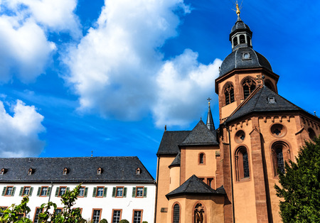 benedictine: Basilica and Benedictine abbey in Seligenstadt, Germany