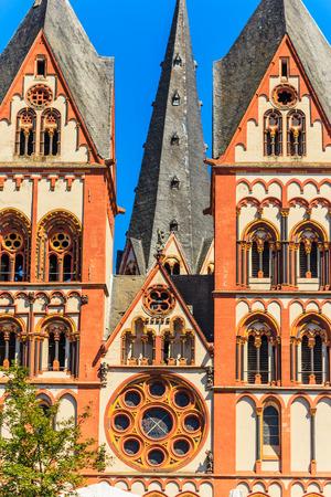 limburg: Cathedral of Limburg an der Lahn, Hesse, Germany Stock Photo