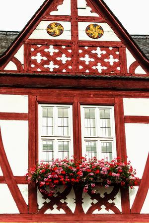 limburg: Quaint half-timbered houses in Limburg an der Lahn, Germany Stock Photo