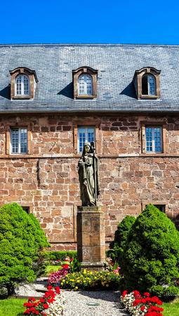 monastery nature: Monastery Sainte Odile patroness of Alsace, France