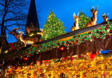 Marché de Noël à Bonn, Allemagne