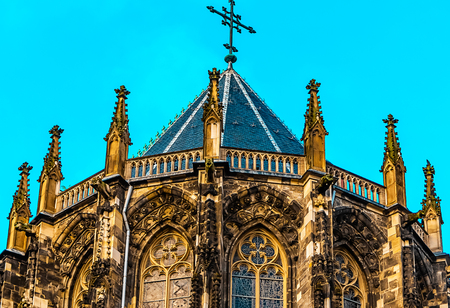 coronation: The Aachen Cathedral, so high Aachen Cathedral, or the Aachen Imperial, Germany. The Aachen chapel what the church of coronation for thirty German kings and queens twelve.
