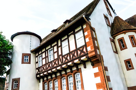 birthplace: Half-timbered house -Birthplace of the Brothers Grimm in Steinau an der Strasse, Hesse, Germany