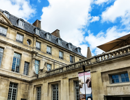 picasso: PARIS, FRANCE-JULY 28, 2016: The Musee Picasso is an art gallery located in the Marais district of Paris, dedicated to the work of the Spanish artist Pablo Picasso (1881%uFFFD %uFFFD 1973).