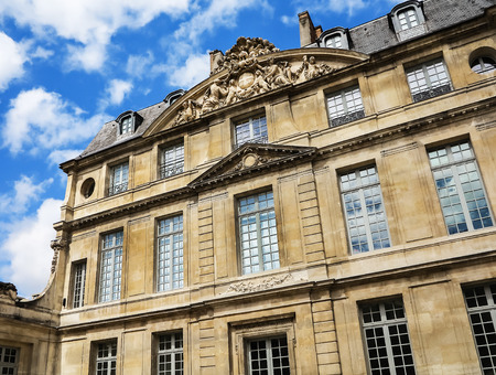 """PARIS, FRANCE-JULY 28, 2016: The Musee Picasso is an art gallery located in the Marais district of Paris, dedicated to the work of the Spanish artist Pablo Picasso (1881%uFFFD %uFFFD """"1973)."""