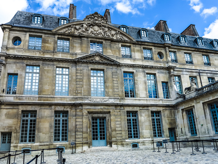 pablo picasso: PARIS, FRANCE-JULY 28, 2016: The Musee Picasso is an art gallery located in the Marais district of Paris, dedicated to the work of the Spanish artist Pablo Picasso (1881%uFFFD %uFFFD 1973).