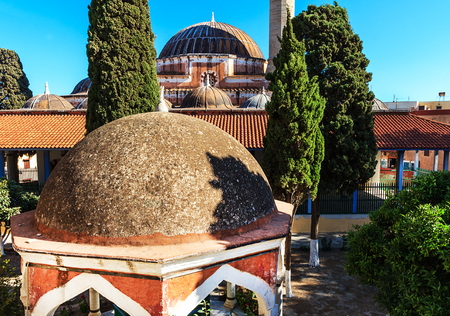 Suleymaniye Mosque on Rhodes Iceland, Greece Stock Photo