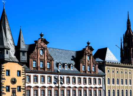 roemerberg: History Museum in Frankfurt am Main (founded 1877-1878), Germany