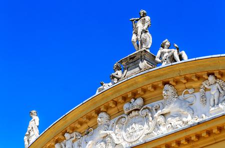 Medieval Orangery Baroque Castle in Kassel, Northern Hesse, Germany