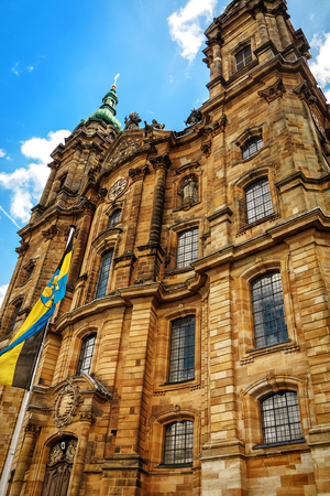 The baroque Basilica of the Fourteen Holy Helpers is one of the country? ? ? s best-known pilgrimage sites, Upper Franconia, Bavaria, Germany
