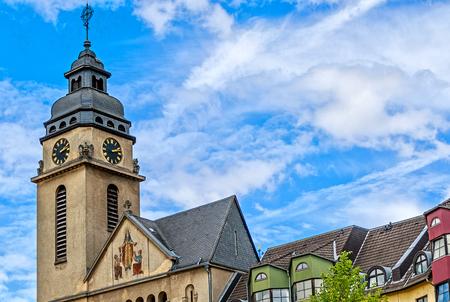 St. Elisabeth Church in Spa town Bad Schwalbach, Hesse, Germany