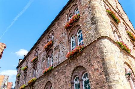 Alsfeld, Hesse, Germany - The Wine House (? Wine House?) Built in 1538 by Hans von Frankfurt as the town's wine storage and distribution facility.