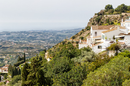 Mijas Pueblo, the charming White Village of Costa del Sol, Andalucia, Spain.