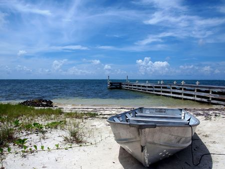 Cayman Islands Boat and Dock         photo