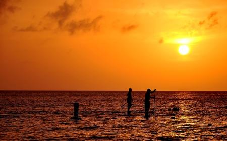 cayman: Sunset Seven Mile Beach Grand Cayman