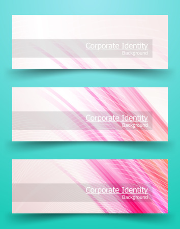 documentation: Classic Corporate Identity Template. Business Documentation. Background for Banners. illustration