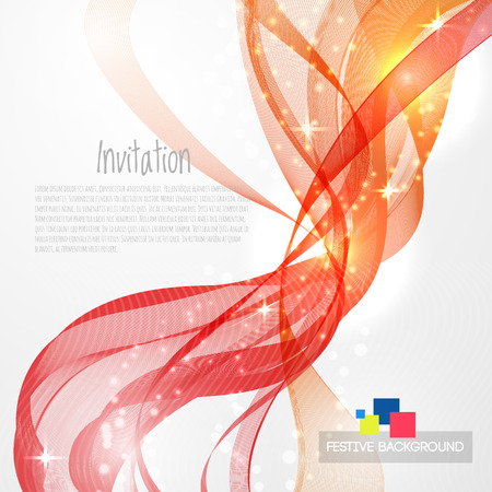 flamy: Flamy modern abstract lines swoosh certificate - speed smooth wave border background. Vector illustration Illustration