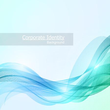 Fondo abstracto del asunto con la onda resplandor de color. Ilustración del vector.