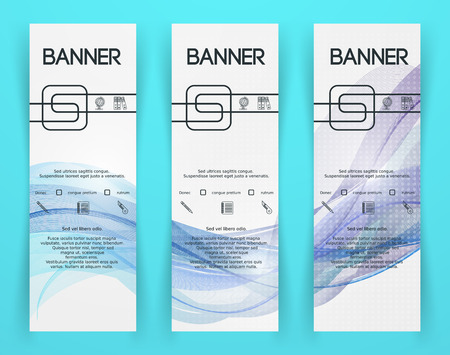 documentation: Classic Corporate Identity Template. Business Documentation. Background for Banners.