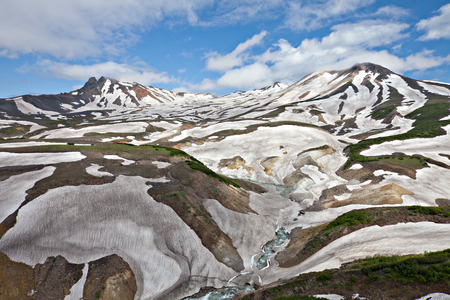 perish: Death Valley where from for the poisoned gases animals on Kamchatka in Russia perish