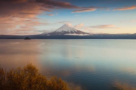 Ilyinsky Sopka - sleeping stratovolcano. South Kamchatka Nature Park.