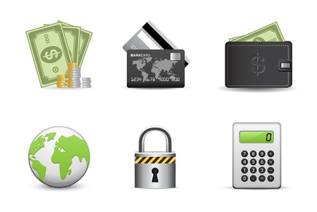 Icons Set for Web Applications, business &amp, shopping icons, Universal icons Set.