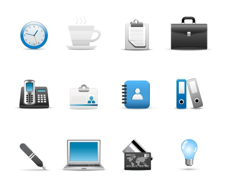 Icons Set for Web Applications, Internet &amp, Website icons, Universal icons Set. Stock Vector - 10476654