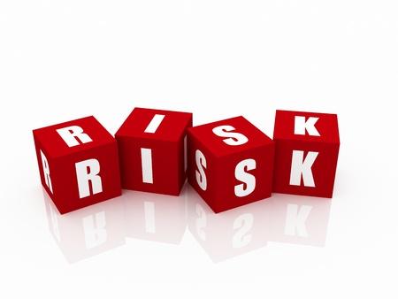 Risk Blocks Stock Photo - 10842469