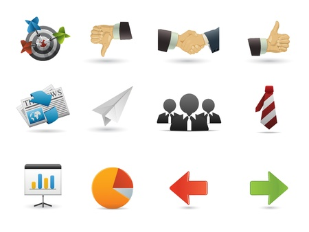 Icons Set for Web Applications, Internet &amp, Website icons, Universal Icons Set  Stock Vector - 10886674