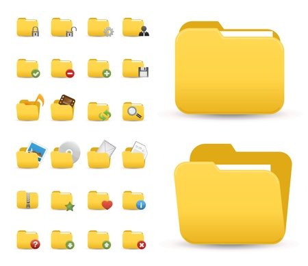 carpeta: Iconos Web, Internet y, iconos web, la carpeta y, iconos de oficinas, iconos, botones web Vectores