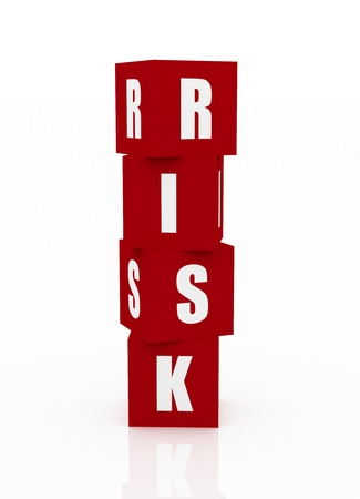 Risk Blocks Stock Photo - 10916410