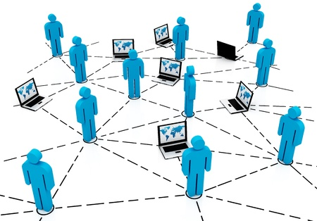 Business team Network Stock Photo - 10916467