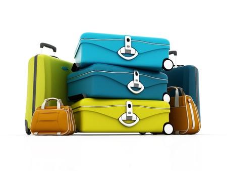 maleta: Kit de equipaje