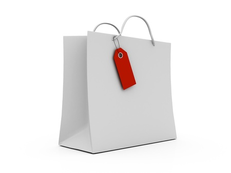 Sale shopping bag photo