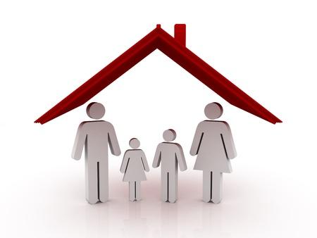Family Home Stock Photo - 10927474