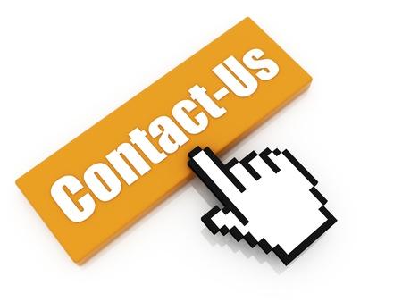 contact us button concept