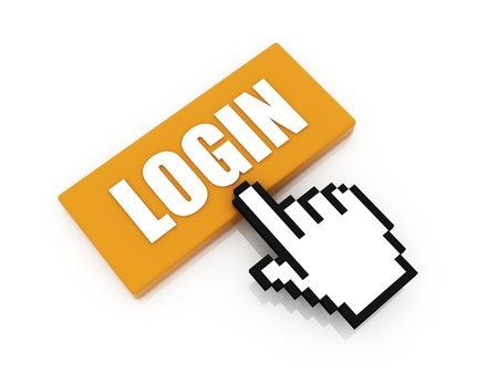login button: login button concept