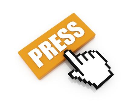 press button concept Stock Photo - 10927765