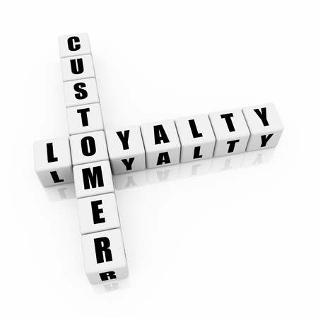 Customer loyalty crossword photo